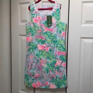 Lilly Pulitzer Dress- NWT- Mini Mila Shift- 14